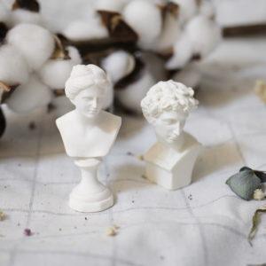 文藝歐風復刻石膏小蠟像