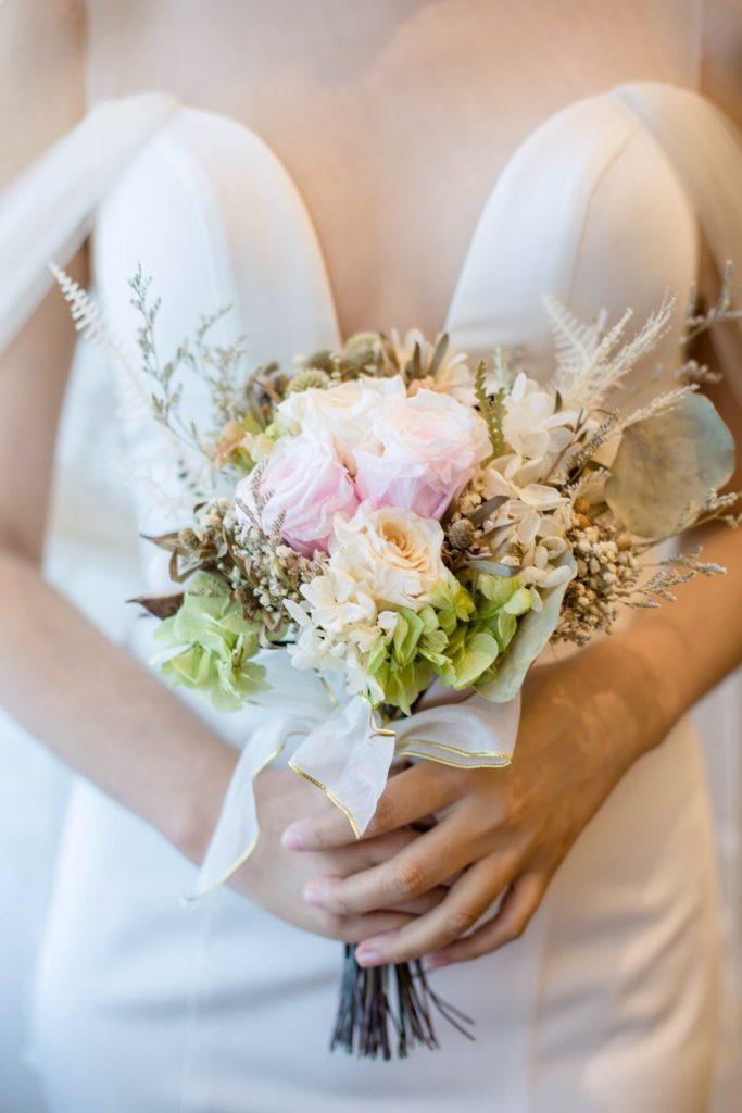 IMG 1626 683x1024 選擇鮮花還是乾燥花好?一次搞懂4種新娘捧花風格!