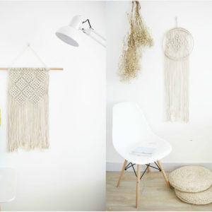 手工製波希米亞風編織掛飾