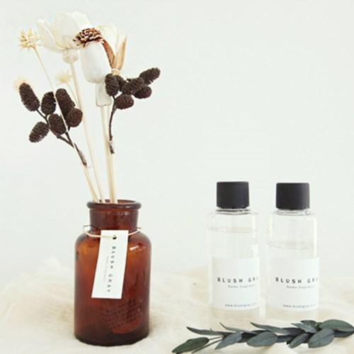 B001665304 過期的名品香水插入乾燥花~就是超乎質感的室內香氛!