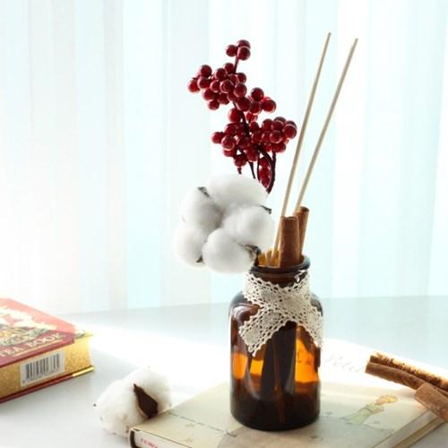 B001858704 過期的名品香水插入乾燥花~就是超乎質感的室內香氛!