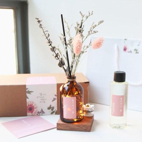 B001897208 過期的名品香水插入乾燥花~就是超乎質感的室內香氛!