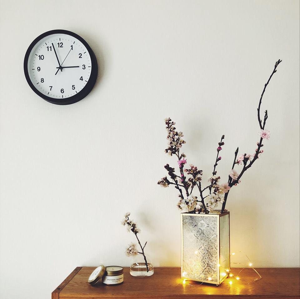 29432499 1919742028098367 25256525325836479 n 外婆家窗景是記憶中最美好的部分...海棠花老玻璃燭燈販售中!