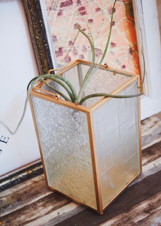 IMG 9475 外婆家窗景是記憶中最美好的部分...海棠花老玻璃燭燈販售中!