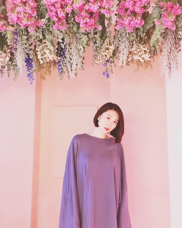 IMG 9757 【空間佈置】少女心大爆發~板橋「上越髮廊」吊掛乾燥花牆