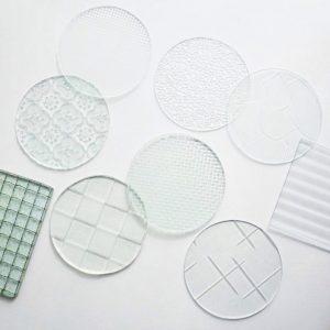 明順玻璃行 MingShun-glass復古押花玻璃片