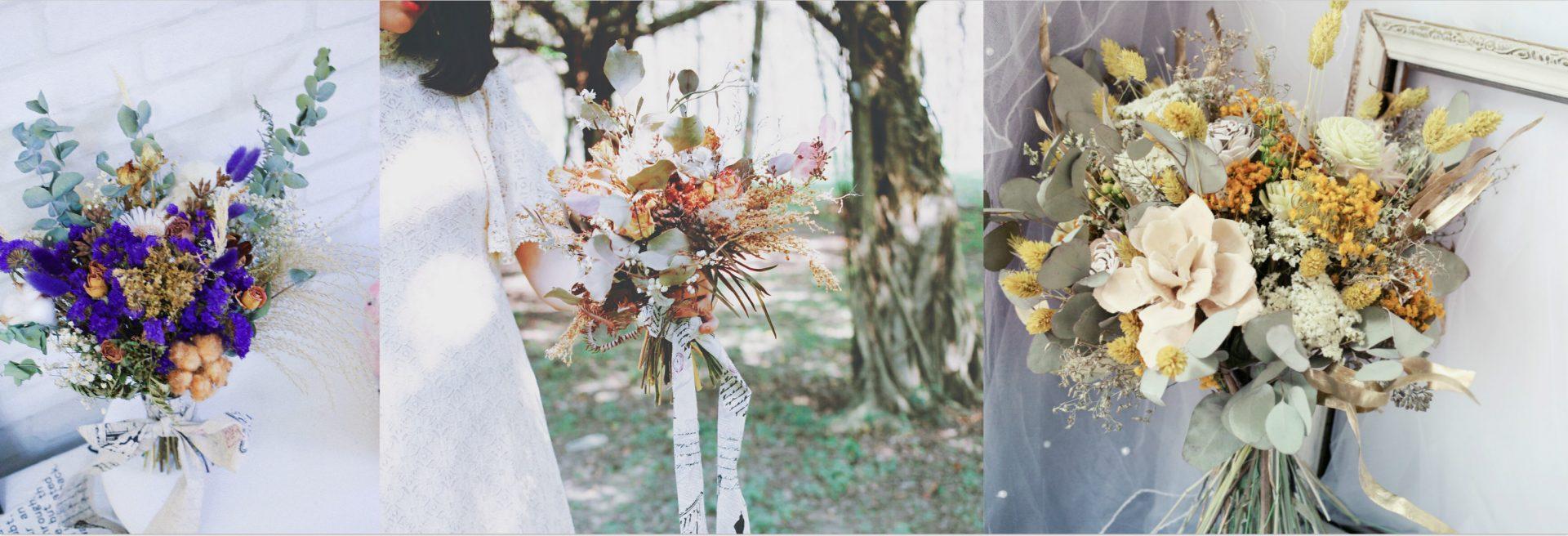 最受歐美派新娘喜愛的「自然風美式手綁捧花」!