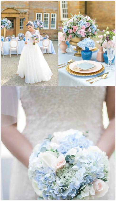 未命名 meitu 3 新娘們都無法抗拒的貴族藍色系婚禮捧花Blue Wedding Bouquet