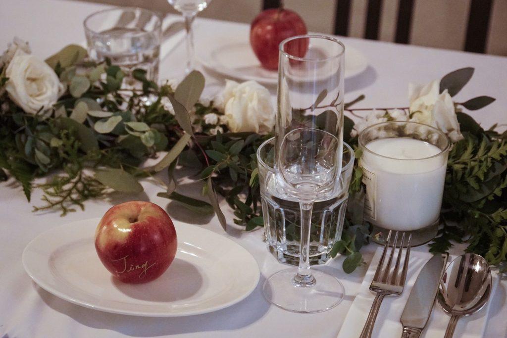 20190127 190127 0001 1024x683 讓人醉心的森林感餐宴佈置/ Natural Garland Table Runner