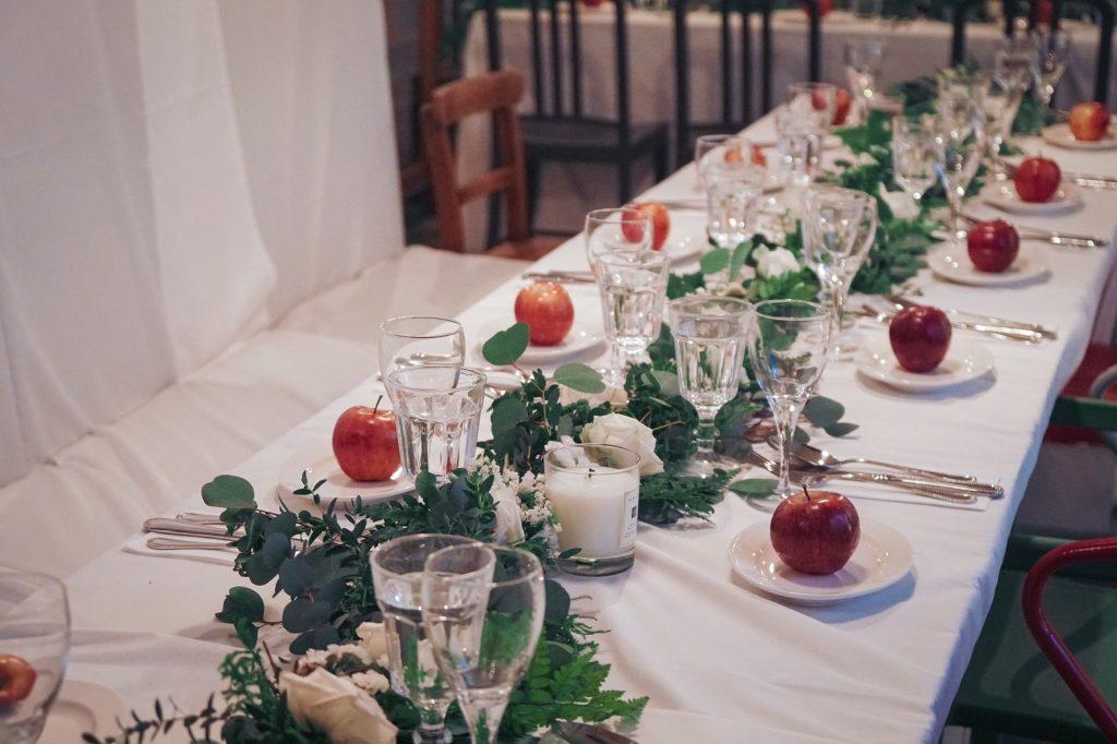 20190127 190127 0004 1024x682 讓人醉心的森林感餐宴佈置/ Natural Garland Table Runner