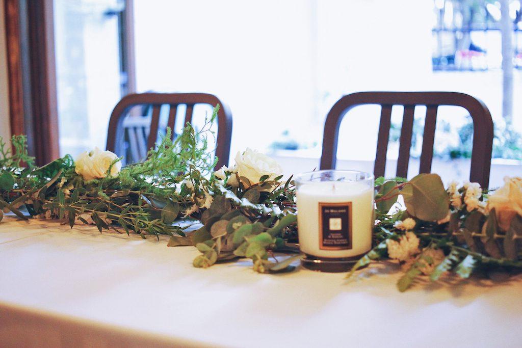 IMG 1287 1024x683 讓人醉心的森林感餐宴佈置/ Natural Garland Table Runner