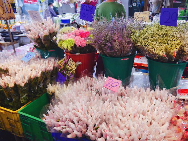 IMG 2101 混亂、祭祀且濃郁的飽和色 / 曼谷花卉市場(Pak Klong Talad)