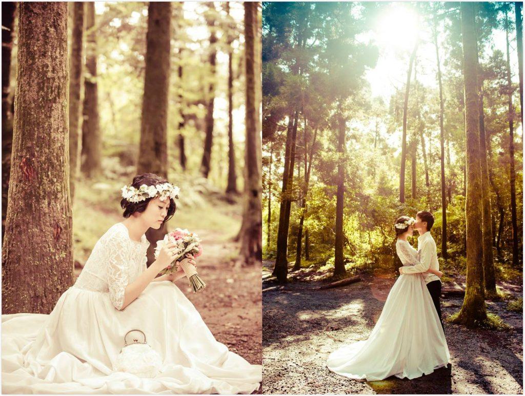 陽明山黑森林 1024x772 新娘請收藏~店主私心推薦的小清新台北自助婚紗行程+捧花搭配!