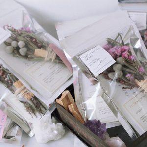 Floal Vintage花藝擴香棒 Floral Sage Smudge Stick