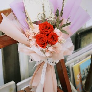 永生玫瑰求婚花束(可客製顏色)