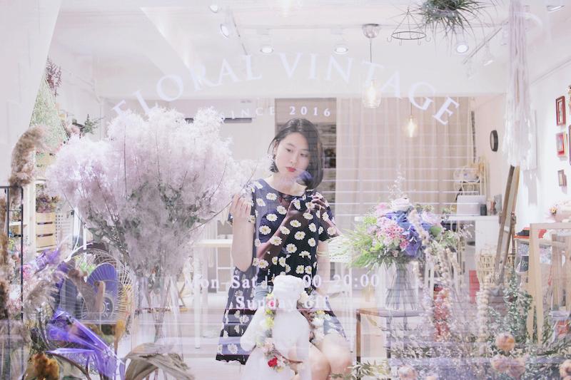 不只是乾燥花店,婚禮或是生活都讓人感到幸福的花藝空間