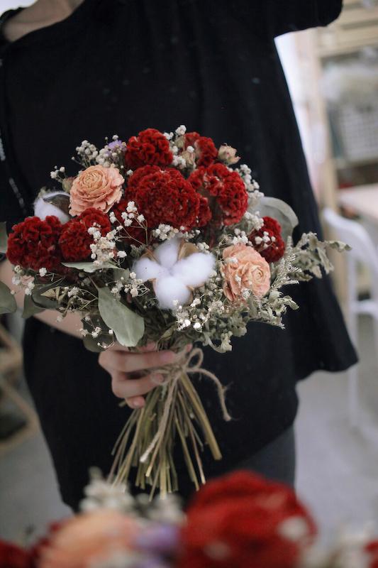IMG 9353 最適合婚禮外拍的兩款捧花介紹
