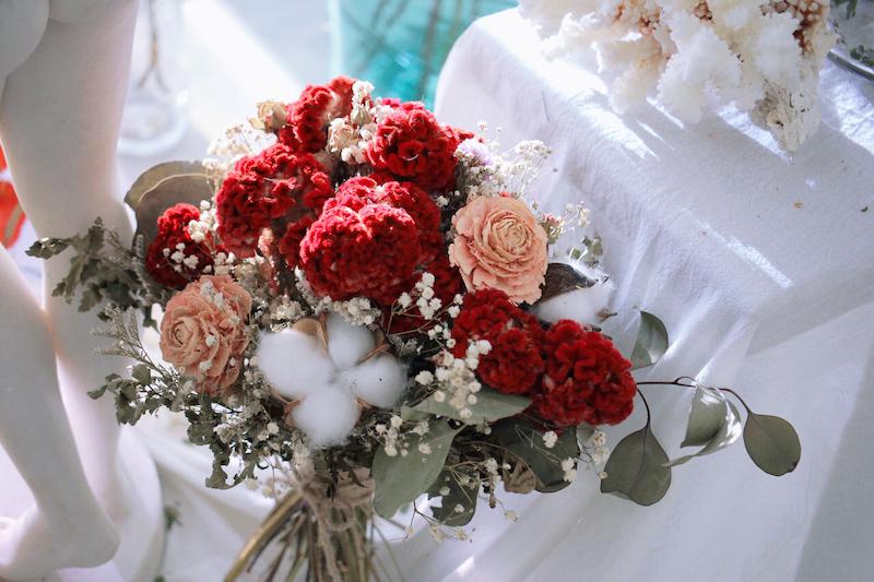 IMG 9354 最適合婚禮外拍的兩款捧花介紹