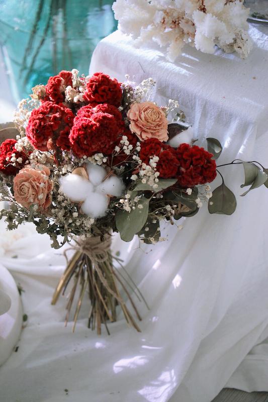 IMG 9355 最適合婚禮外拍的兩款捧花介紹