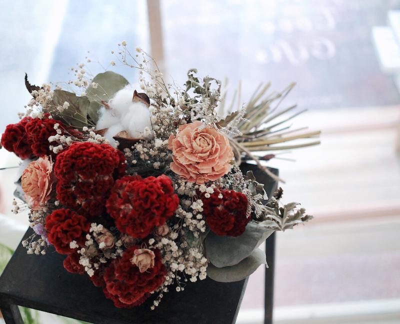 最適合婚禮外拍的兩款捧花介紹