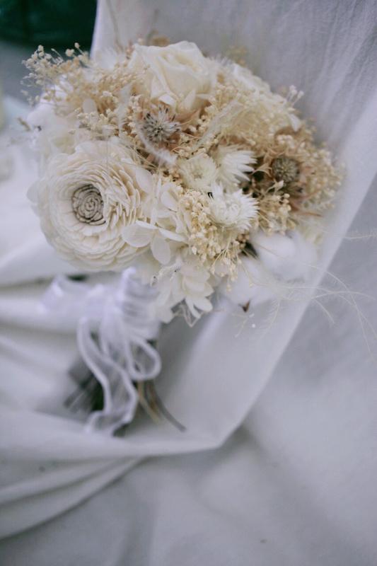 IMG 9533 最適合婚禮外拍的兩款捧花介紹