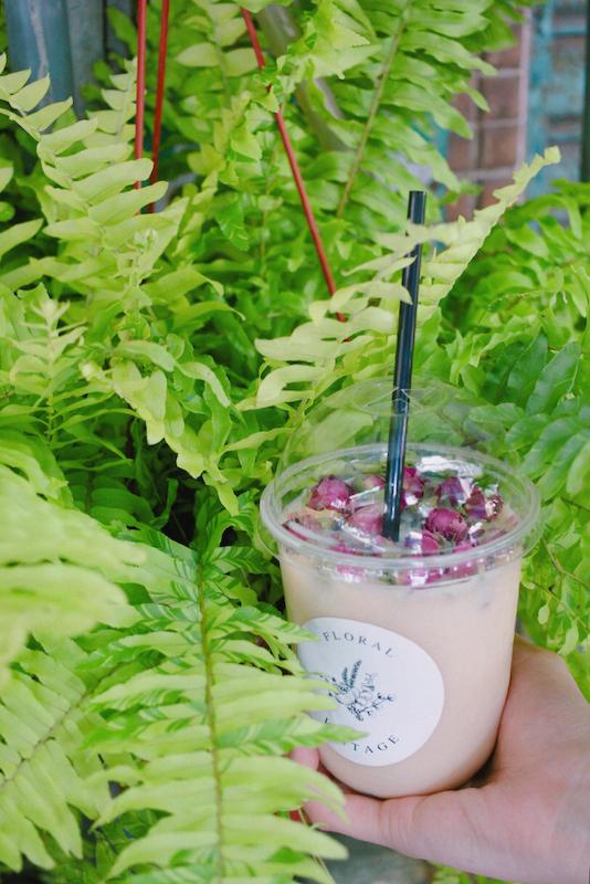 IMG 1231 開賣囉!來工作室喝店主特調的「乾燥花鮮奶茶」拍一波美照