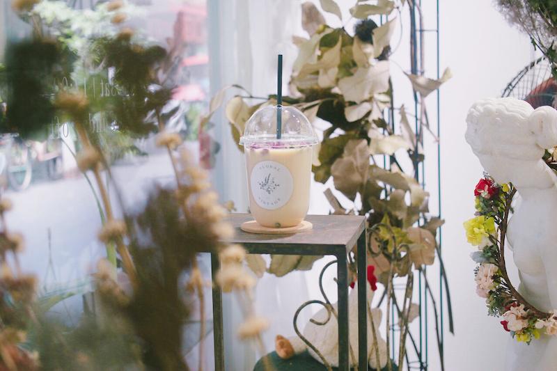 IMG 1243 開賣囉!來工作室喝店主特調的「乾燥花鮮奶茶」拍一波美照