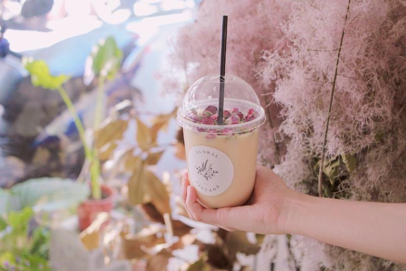 IMG 1244 開賣囉!來工作室喝店主特調的「乾燥花鮮奶茶」拍一波美照
