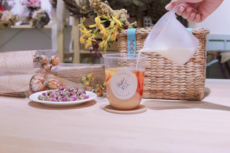 IMG 1249 開賣囉!來工作室喝店主特調的「乾燥花鮮奶茶」拍一波美照