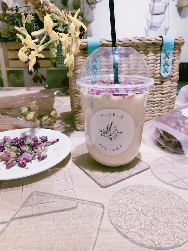 IMG 1297 開賣囉!來工作室喝店主特調的「乾燥花鮮奶茶」拍一波美照