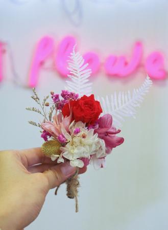 新郎主婚人胸花送禮小花束