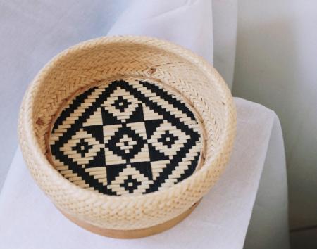 泰國編織花籃