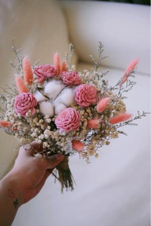 可愛感小份量乾燥捧花